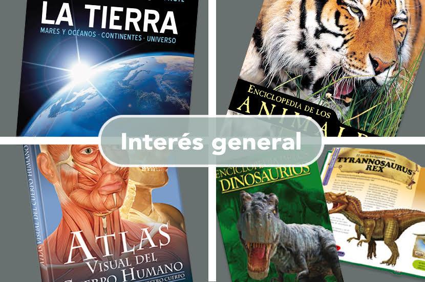 LIBROS INTERES GENERAL