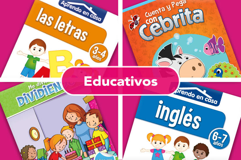 LIBROS EDUCATIVOS