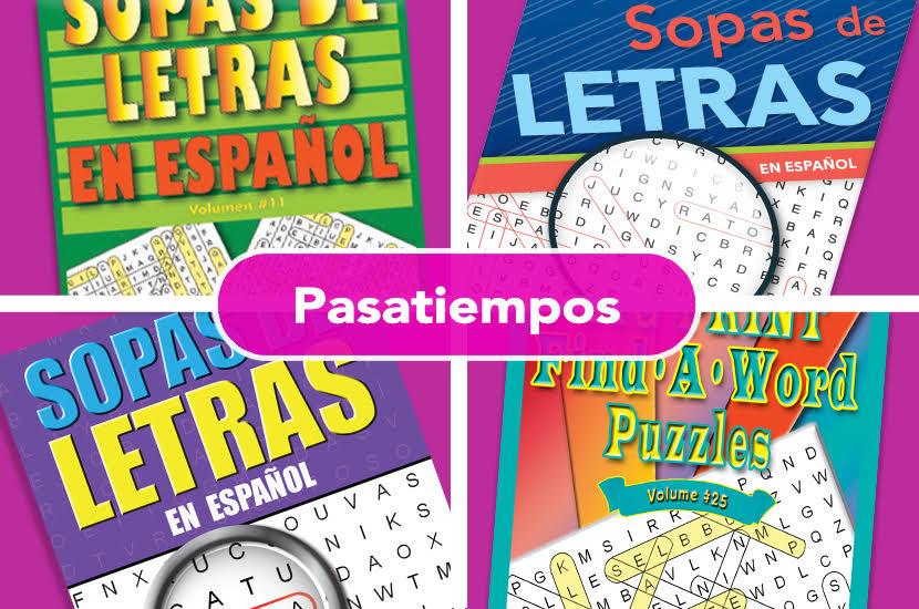 LIBROS DE PASATIEMPOS